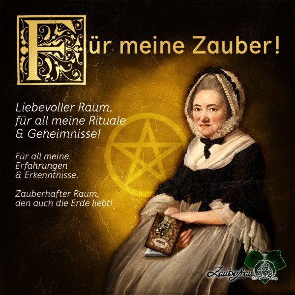 Notizbuch Zauber