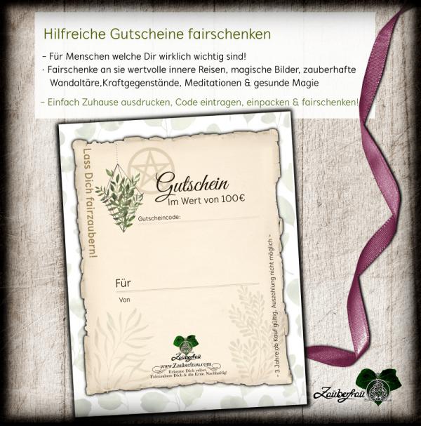 Gutschein mit Pflanzen 100€