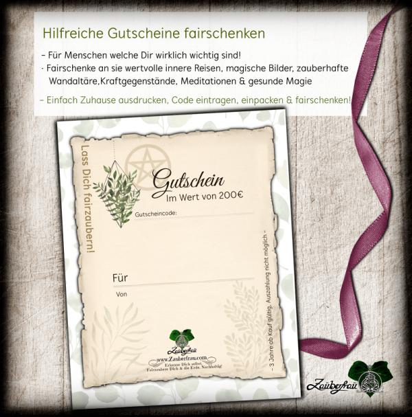Gutschein mit Pflanzen 200€