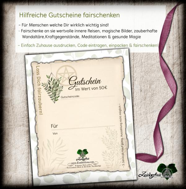 Gutschein mit Pflanzen 50€