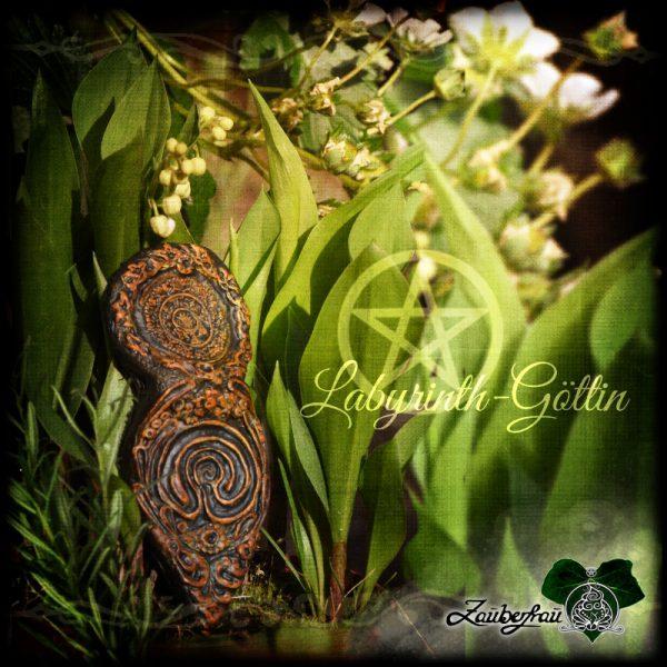 Labyrinth Göttin in Natur