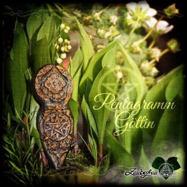 Pentagramm Göttin im Grünen