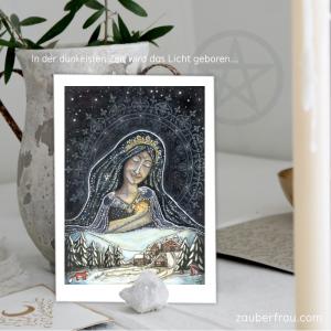 Kunstdruck: Die Julgöttin