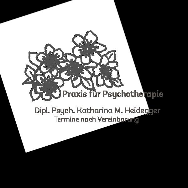 Beispiel: Logo für Psychotherapiepraxis Heidegger
